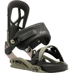 Drake Snowboard bindings Fifty (olive)