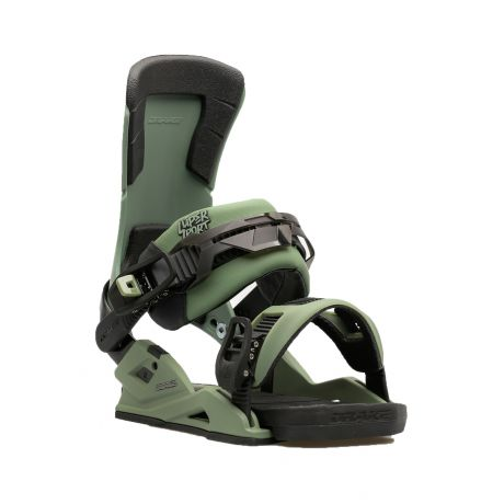 Drake Snowboard bindings Super Sport (army)