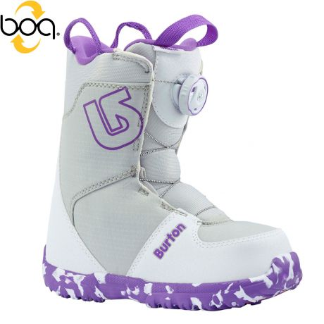Burton Grom Boa white/purple 2017/2018