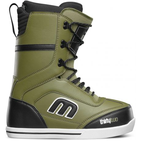 Mens ThirtyTwo Snowboard boots Lo Cut (olive)