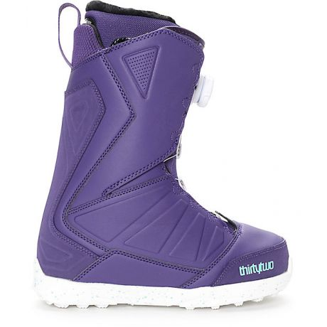 Womens ThirtyTwo Snowboard boots Lashed Boa (purple)