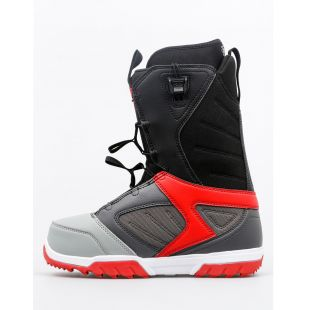 Mens ThirtyTwo Snowboard boots Groomer FT (grey/black/red)