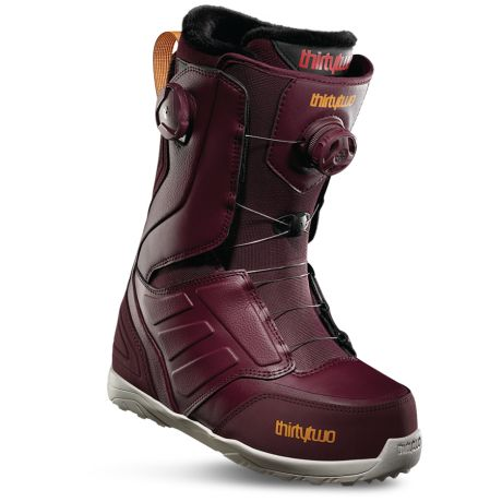 Womens ThirtyTwo Snowboard boots Lashed Double Boa (burgundy)