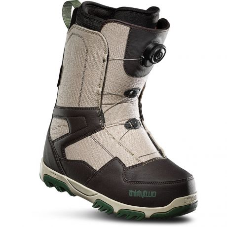 Mens ThirtyTwo Snowboard boots Shifty Boa (tan/brown)