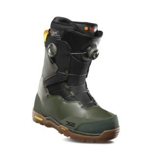 Mens ThirtyTwo Focus Boa Snowboard boots (olive/black/gum)