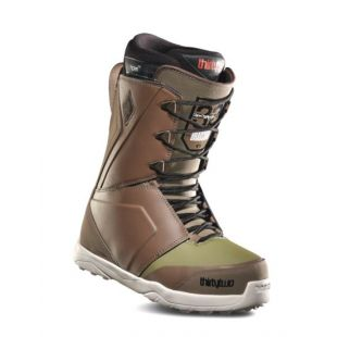 Mens ThirtyTwo Lashed Bradshaw Snowboard boots (brown/green)