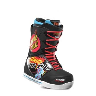 Mens ThirtyTwo Santa Cruz Lashed Snowboard boots (black/print)