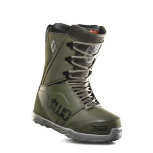 Mens ThirtyTwo Lashed Snowboard boots (olive)