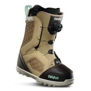 Womens ThirtyTwo Snowboard boots Stw Boa (tan/black)
