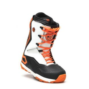 Mens ThirtyTwo Tm 3 Grenier Snowboard boots (black/white/orange)