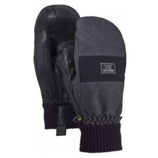 Burton Dam mitt (true black wax)