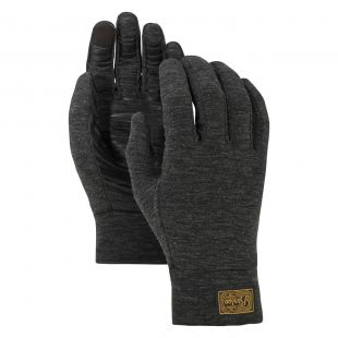 Burton Dr Wool Liner true black heather