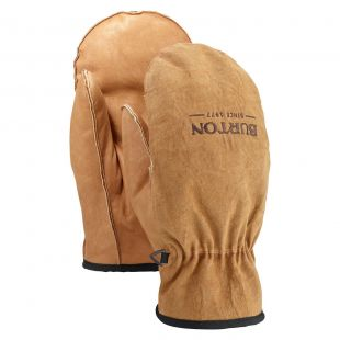 Burton Workhorse Leather Mitt raw hide