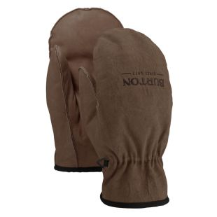 Burton Workhorse Leather Mitt brown cow