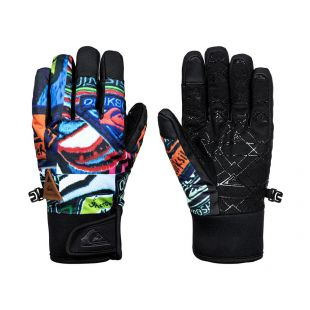 Quiksilver Method Youth quiky print gloves