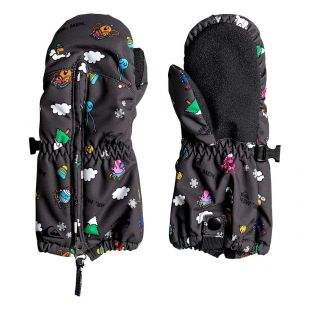 Quiksilver Mr Men Indie Kids Mitt black