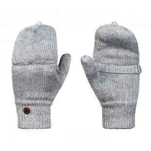 Roxy Frozen Jaya Mittens warm heather grey