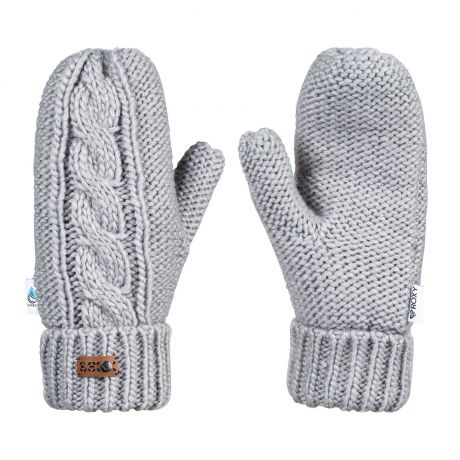 Roxy Winter Mittens warm heather grey