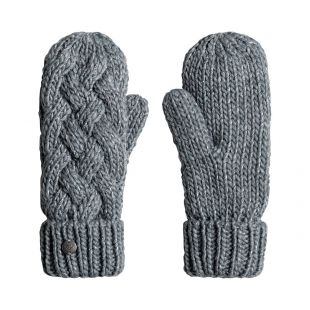 Roxy Love And Snow Mittens heritage heather