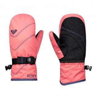 Roxy Jetty Solid Girl Mitt shell pink