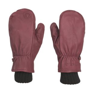 Volcom Emmet Rope Tow Mitt burnt red