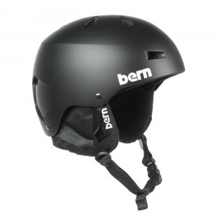 Шлем Bern Macon Crank-Fit matte black 2018/2019