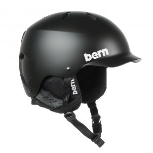 Шлем Bern Watts Crank-Fit matte black 2018/2019