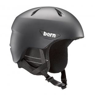 Шлем Bern Weston matte black 2018/2019