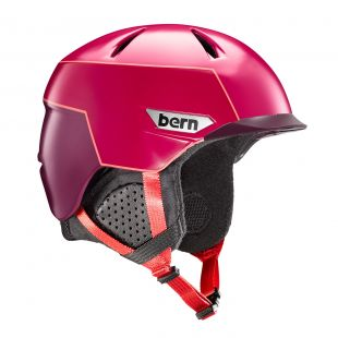 Шлем Bern Weston Peak satin cranberry/pink 2018/2019