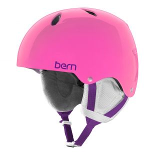 Шлем Bern Team Diabla Jr translucent pink