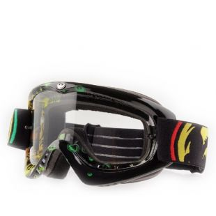 Маска Dragon Cross goggles MDX-L AFT (rasta icon/clear) 1502