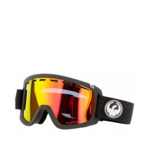 Маска Dragon Goggles D1 (black/lumalens red ion/l rose)