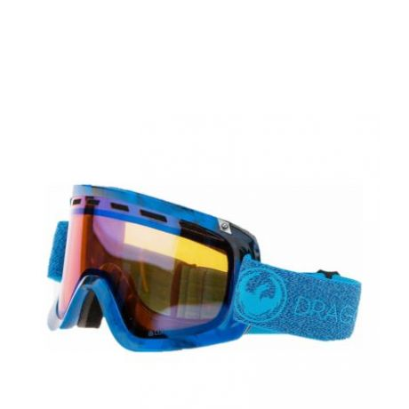 Маска Dragon Goggles D1 (mill/lumalens blue ion/l amber)