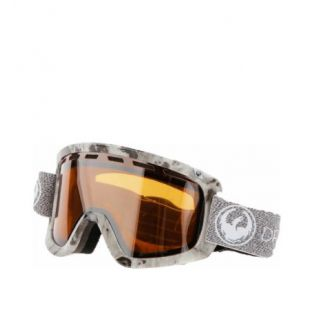 Маска Dragon Goggles D1 (mill/lumalens silver ion/dark smoke)