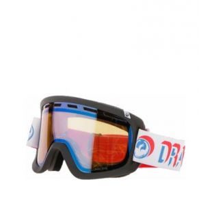 Маска Dragon Goggles D1 (verge/lumalens flash blue/dark smoke)