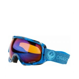 Маска Dragon Goggles D3 (mill/lumalens blue ion/l amber)