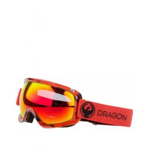 Маска Dragon Goggles D3 (mill/lumalens red ion/l rose)