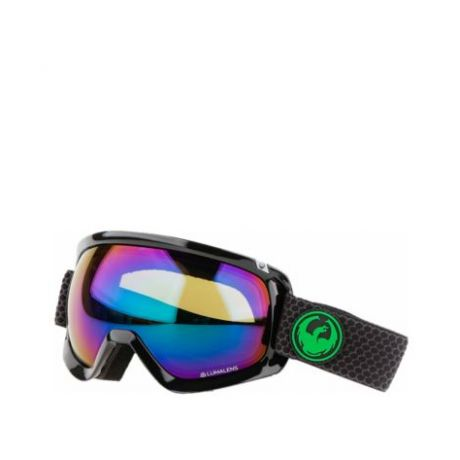 Маска Dragon Goggles D3 (split/lumalens green ion/l amber)