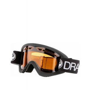 Маска Dragon Goggles DXS (black/dark smoke)