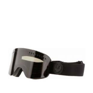 Маска Dragon Goggles NFX2 (knight rider/dark smoke/l flash blue l rose)