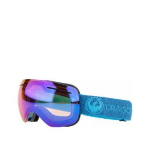 Маска Dragon Goggles X2 (mill/lumalens blue ion/l amber)