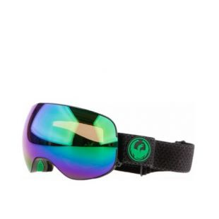 Маска Dragon Goggles X2s (split/lumalens green ion/l amber)