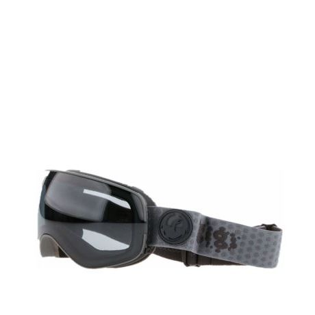 Маска Dragon Goggles X2s (gigi ruff sig/dark smoke/l flash blue)