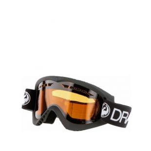 Маска Dragon Goggles DXS (black/llamber)