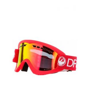 Маска Dragon Goggles DX (red/lumalens red ion)