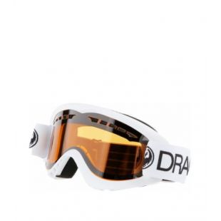 Маска Dragon Goggles DX (white/lumalens amber)