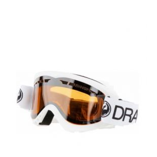 Маска Dragon Goggles DX (white/lumalnes silver ion)
