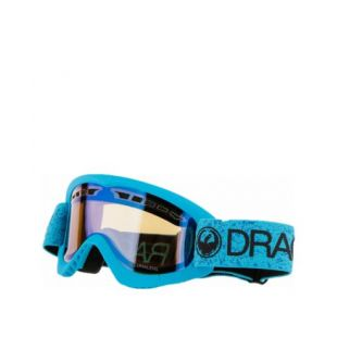 Маска Dragon Goggles DXS (blue/lumalens flash blue)