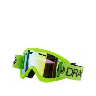 Маска Dragon Goggles DXS (green/lumalens gold ion)