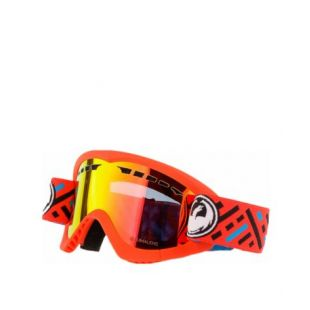 Маска Dragon Goggles DXS (mod/lumalens red ion)